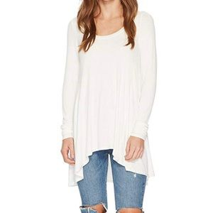 NWT Free People January Tee Ivory Size Small
